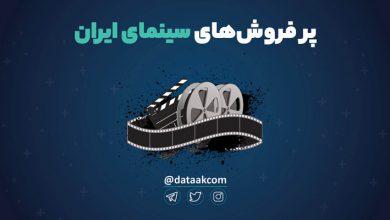 Photo of پر فروشهای سینمای ایران بر روی نمودار دِیتاک