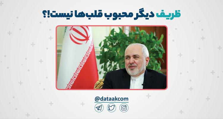 محمدجواد ظریف دیگر محبوب قلبها نیست!؟