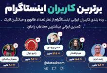 Photo of برترین کاربران ایرانی اینستاگرام در سال ۹۸