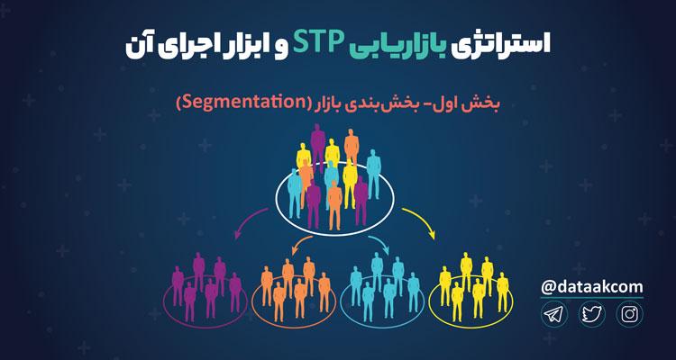استراتژی بازاریابی STP و ابزار اجرای آن در فضای مجازی