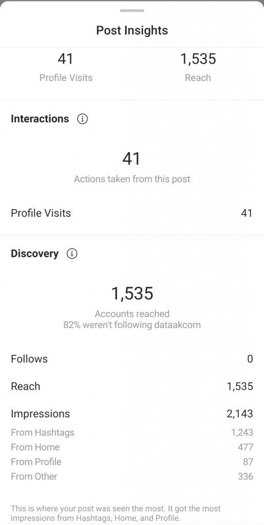 -اینسایت پست اینستاگرامinstagram post insight