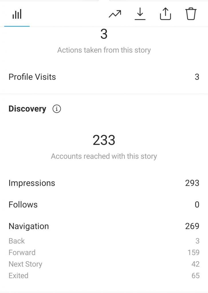 instagram story insight-اینسایت استوری اینستاگرام