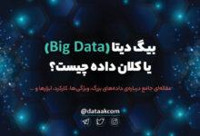Photo of بیگ دیتا (Big Data) یا کلان داده چیست و چه کاربردی دارد؟