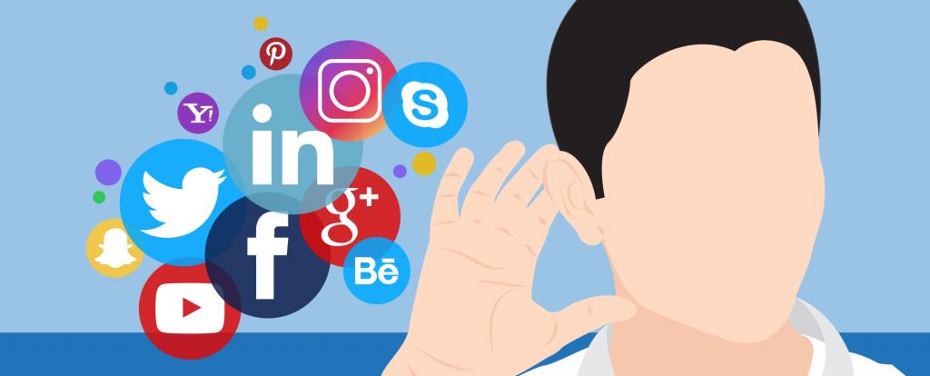 گوش دادن به شبکه های اجتماعی