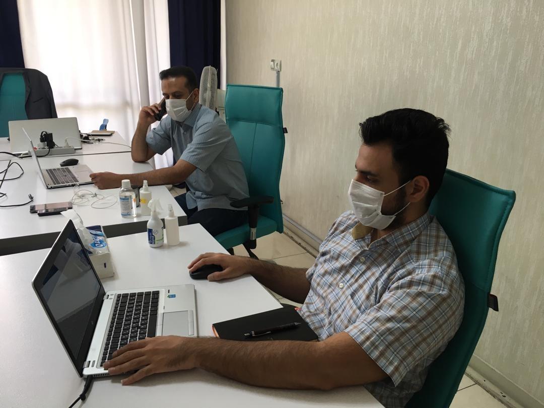 دورکاری در دیتاک - کارکنان شرکت