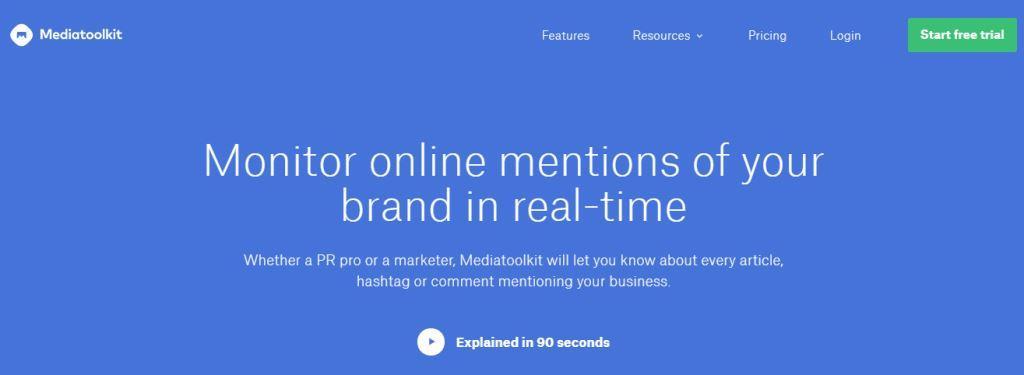 ابزار روابط عمومی آنلاین شماره 15: Mediatoolkit