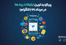 Photo of برترین تبلیغات تلگرامی برندها در مرداد ۹۹   پربازدیدترین تبلیغات تلگرامی برندها