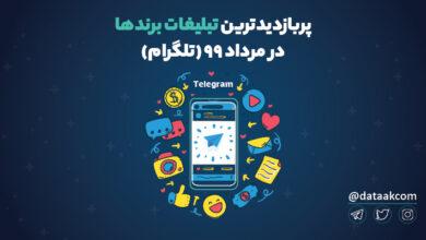 Photo of برترین تبلیغات تلگرامی برندها در مرداد ۹۹ | پربازدیدترین تبلیغات تلگرامی برندها