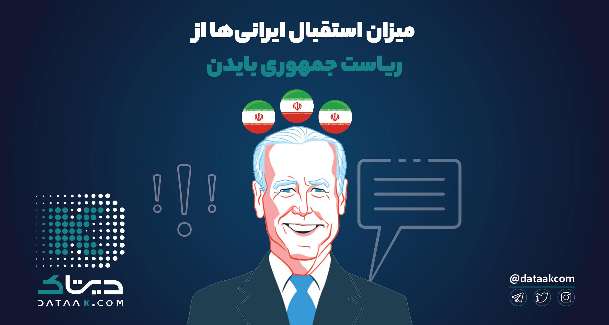 پیروزی جو بایدن ایرانیها را خوشحال کرد