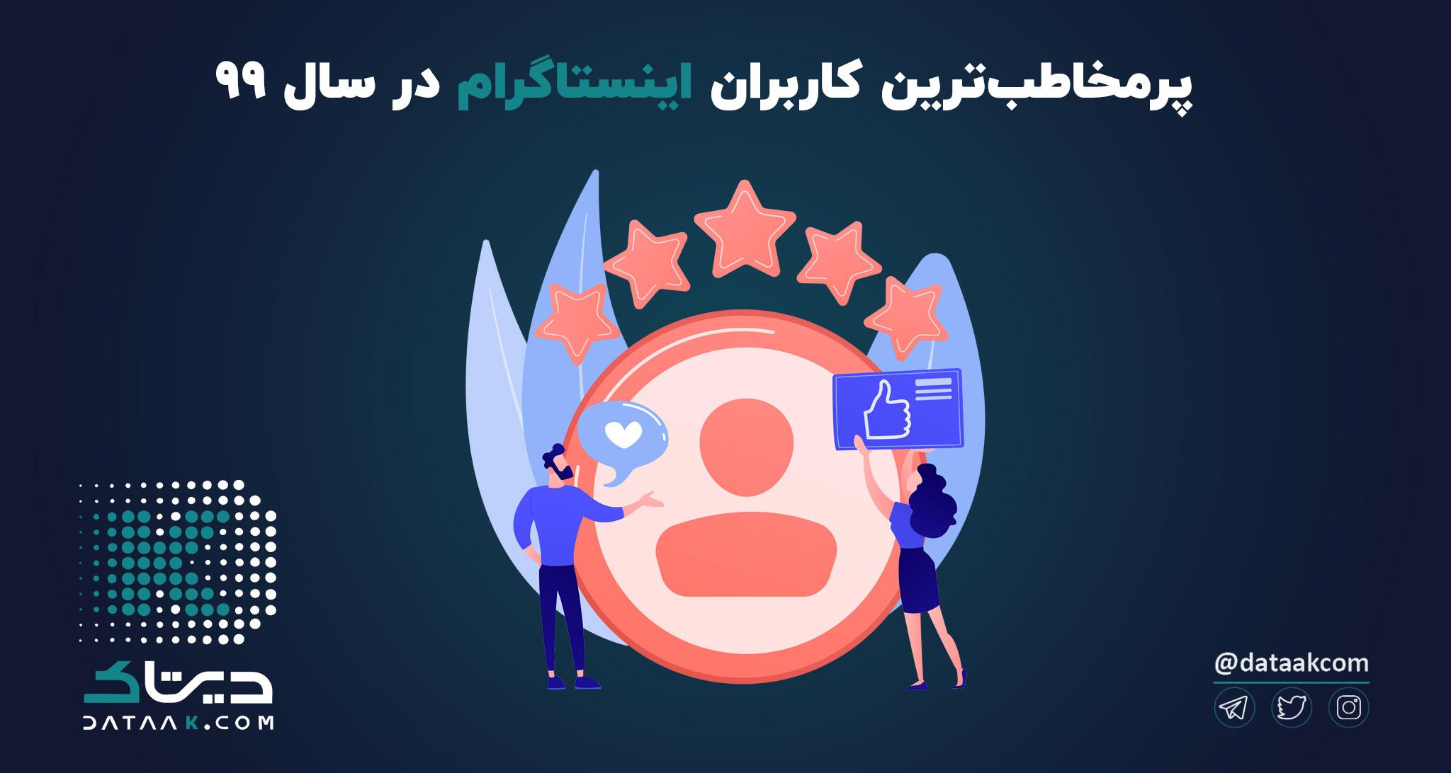 بیشترین فالوور اینستاگرام در ایران متعلق به چه کسانی است؟