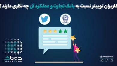 Photo of کاربران توییتر نسبت به بانک تجارت و عملکرد آن چه نظری دارند؟