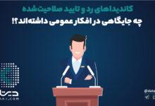 Photo of فراز و فرود کاندیداهای انتخابات رد و تایید صلاحیت شده ۱۴۰۰